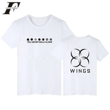 2017 BTS kpop fitness t-shirt men women funny t shirt summer t shirt brand clothing black bangtan boys korean tee shirt femme