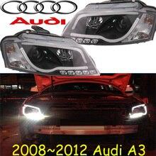 A3 headlight,2008~2012,Fit LHD,Free ship! A3 fog light,2ps/set+2pcs Aozoom Ballast;A3