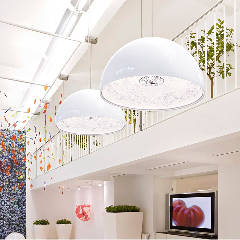 Modern Simple FRP Resin Foyer E27 LED Pendant Light Marcel Wanders Led Pendant Lamp Internal Pattern Skygarden Led Hanging Lamp modern simple frp resin foyer e27 led pendant light marcel wanders led pendant lamp internal pattern skygarden led hanging lamp