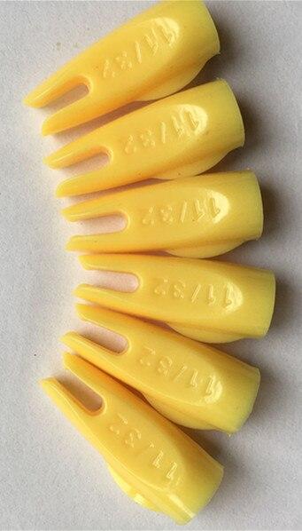 30 adet 6 Renk Ok Nocks 8mm Özel Kuyruk Çivi Için Karbon ve alüminyum mil