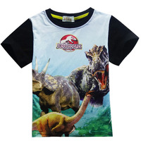 Name Brand Kids Clothes Boys Funny T Shirts Enfant Cheap Baby Cute Cartoon Summer Tshirt Child