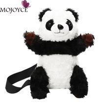 Mulheres Crossbody Saco de pelúcia Panda Dos Desenhos Animados Da Menina Das Mulheres Sling Ombro Sacos Casuais Bolsas Mini Messenger Bags Lady Bolsa Tote 2018