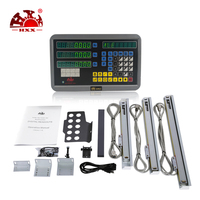 HXX Factory Nice 3 Axis Digital Readout DRO GCS900 3D/ and 3Pcs Linear Scale For Mill/Grinder/Wire Cutting Machines