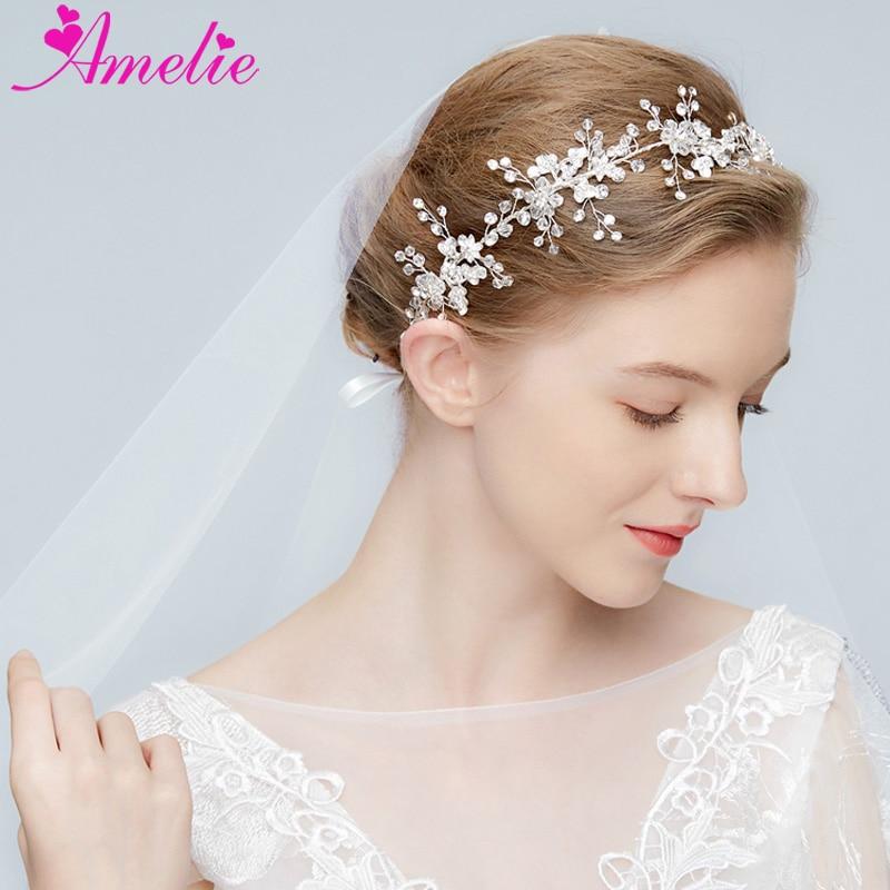 Wedding Headpiece For 2018: Delicate Crystal Rhinestone Hair Vine For Veil 2018
