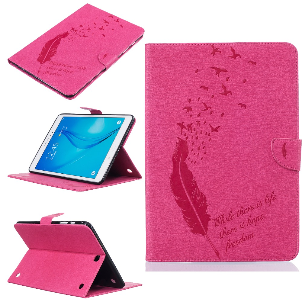 Stand Case for coque Samsung Galaxy Tab A 9.7 T550 T551 T555 Case for Samsung Galaxy Tab A 9.7 Cover Stand Case with Card Holder