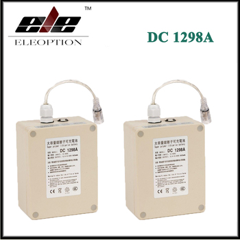 2x Eleoption Waterproof 12V 9800mah Super Rechargeable Portable Li-ion Battery DC1298A