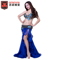 Woman Belly Dance Costume Suits Bra Lace Fishtail Long Skirt Performance Wear Skirt Bellydance Clothes Eastern