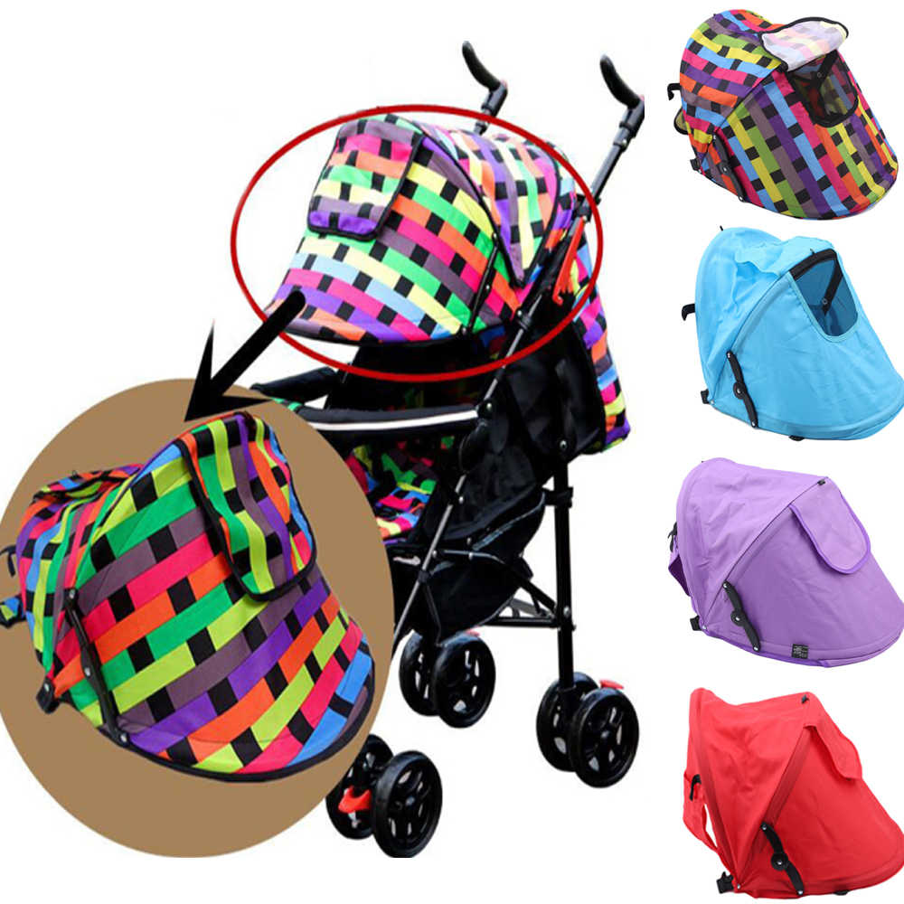 Baby Stroller Sunshield Shade Protection Hood Canopy Cover Prams Stroller Accessories Baby Stroller Sun Visor Carriage Sun Shade
