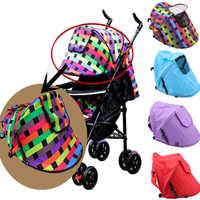 Carrinho de bebê guarda-sol sombra capa de proteção do dossel carrinhos de criança acessórios do bebê carrinho de sol viseira carrinho de sol sombra