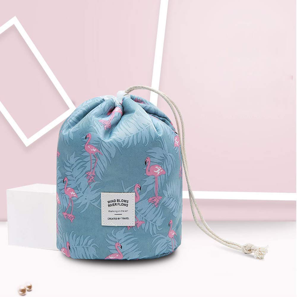 ab52713b5970 US $4.65 5% OFF|Waterproof Travel, Makeup, Cosmetic Bag, Travel Kit  Organizer, Bathroom Storage Barrel Shaped Cosmetic Bag Carry Case,  Toiletry-in ...