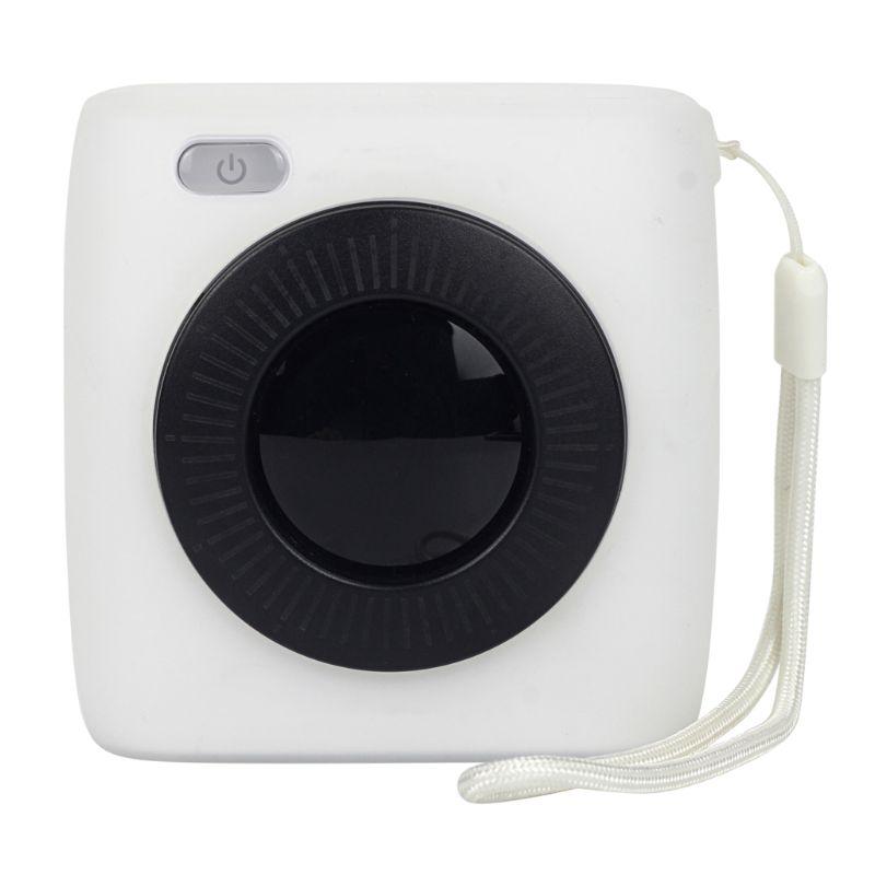 Мягкий силиконовый полупрозрачный защитный чехол для переноски, чехол для хранения, сумка в виде ракушки, протектор для Paperang P2 поколения, фотопринтер Ac - Цвет: Белый