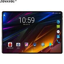 2.5D стальной экран планшетный ПК 10,1 дюймов Android 7,0 Google 3g вызов Восьмиядерный 4 Гб ram 64 Гб rom Wi-Fi Bluetooth ips стекло детский стол