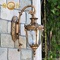 El balcón jardín europea pared pasillo exterior lámpara de pared de lujo villa patio lámpara de pared de fondo de pared resistente al agua