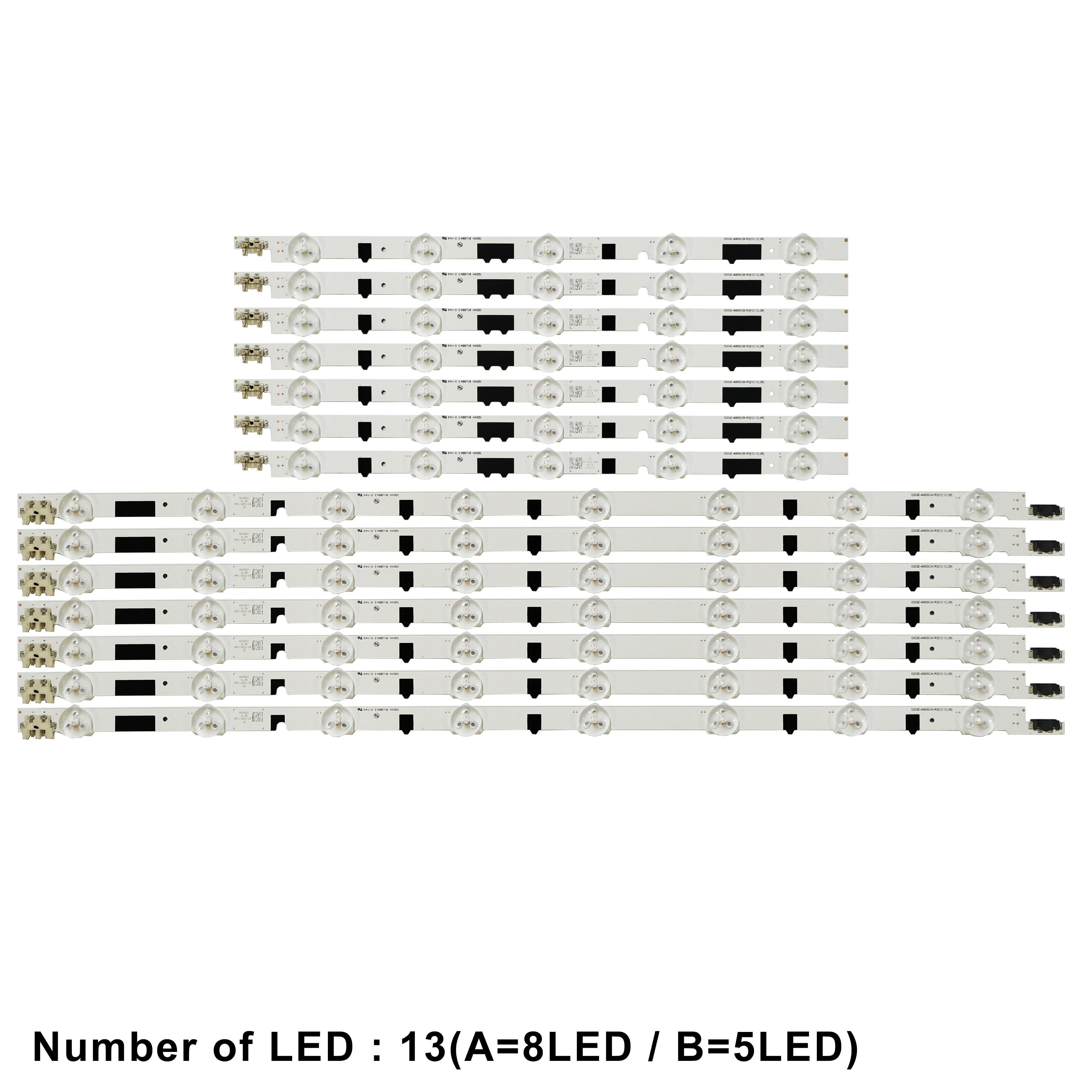 LED strip For BN96 25304A BN41 01970A UN40F6400 UE40F6500 UE40F6200AK UE40F5300 UE40F6800 UE40F6510 UA40F5000 AJ UE40F6650