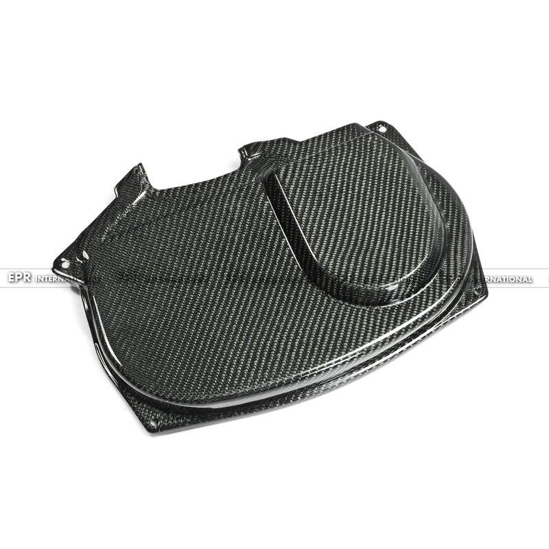 Для Mitsubishi Evolution EVO 9 карбоновое волокно Mivec стиль Cam покрытие глянцевое волокно отделка Двигателя аксессуары гоночная отделка автомобиля Стайлинг