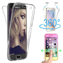 360 Degree Full Body Two Crystal TPU Case For Samsung Galaxy Note 9 Case  Note 9 0264a9fe3f10