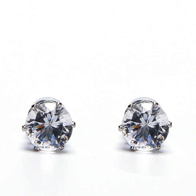 3f50f552d02b1 Detail Feedback Questions about White Black Magnetic Magnet Ear Stud ...