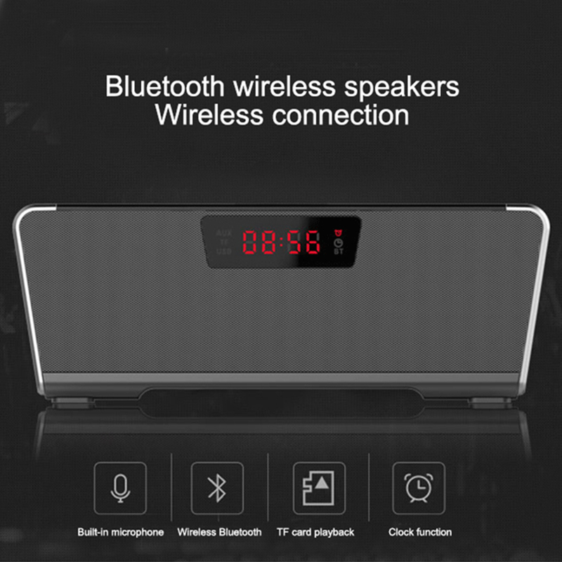 ФОТО  Bluetooth speaker Portable Wireless speaker Home Theater Party Speaker Sound System 3D stereo Music 360 degree surround sound