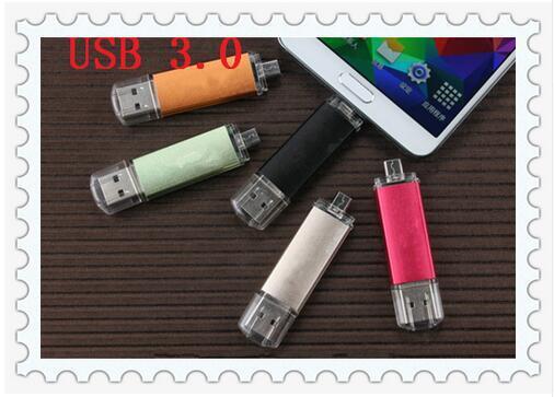 2017 Estilo Hot New usb Flash Drive 256 gb usb 3.0 OTG Pen Drive 16/32/64/128 GB usb stick Unidade De Armazenamento flash drive Pendrive presente!