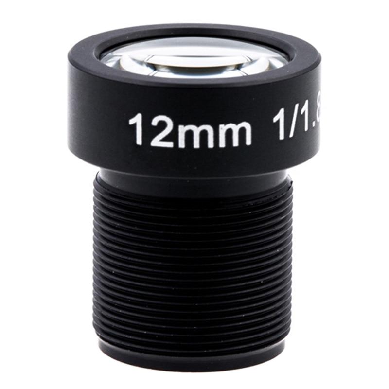 4 k Lentille 12mm 1/1. 8 pouce 34D M12 HFOV 10MP Lentille pour GoPro Hero 4 3 GitUp 2 D'action Caméra SJCAM SJ4000 Xiaomi Yi 4 k Sport DV Lentille