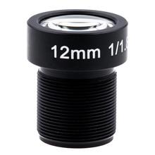 4K 렌즈 12mm 1/1.8 인치 34D M12 HFOV 10MP 렌즈 GoPro Hero 4 3 + GitUp 2 액션 카메라 SJCAM SJ4000 Xiaomi 이순신 4K 스포츠 DV 렌즈