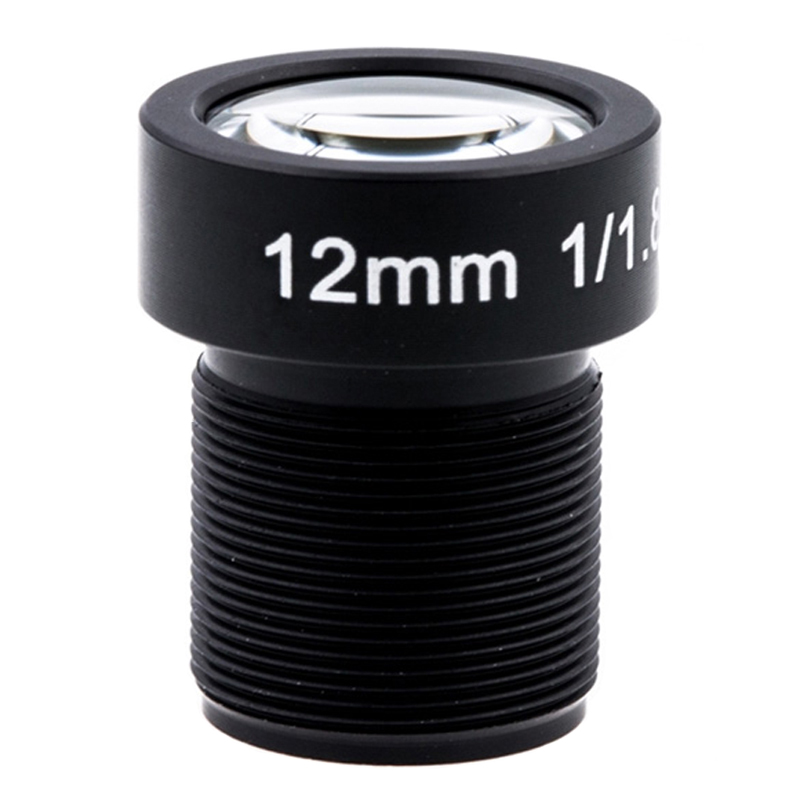 4K LENS 12mm 1/1.8 Inch 34D M12 HFOV 10MP Lens for GoPro Hero 4 3+ GitUp 2 Action Camera SJCAM SJ4000 Xiaomi Yi 4K Sport DV Lens image