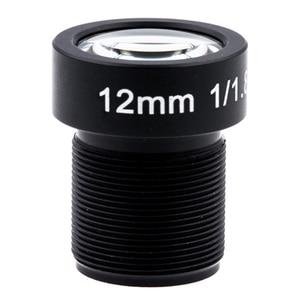 Image 1 - 4K LENS 12mm 1/1.8 Inch 34D M12 HFOV 10MP Lens for GoPro Hero 4 3+ GitUp 2 Action Camera SJCAM SJ4000 Xiaomi Yi 4K Sport DV Lens