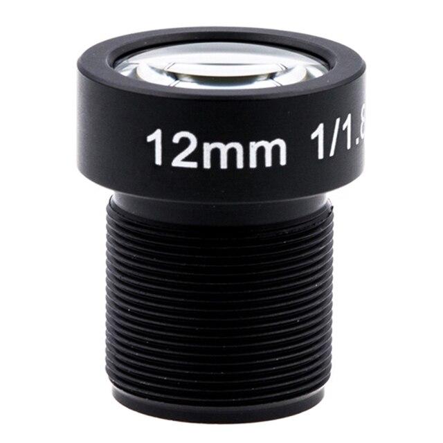 4K LENS 12mm 1/1.8 Inch 34D M12 HFOV 10MP Lens for GoPro Hero 4 3+ GitUp 2 Action Camera SJCAM SJ4000 Xiaomi Yi 4K Sport DV Lens