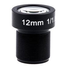 4K Lens 12Mm 1/1.8 Inch 34D M12 Hfov 10MP Lens Voor Gopro Hero 4 3 + Gitup 2 Actie Camera Sjcam SJ4000 Xiaomi yi 4K Sport Dv Lens