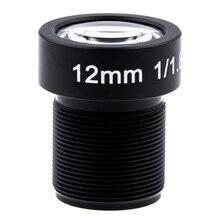 Objectif 4K 12mm 1/1.8 pouces 34D M12 HFOV 10MP objectif pour GoPro Hero 4 3 + GitUp 2 caméra daction SJCAM SJ4000 Xiaomi Yi 4K Sport DV objectif