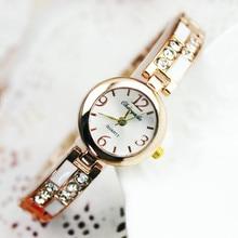 hot fashion luxury silver bracelet watch women watches quartz-watch lady hour montre femme relogio feminino relojes mujer 2016