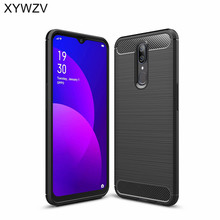 For OPPO F11 Case Shockproof Armor Protective Soft Silicone Phone Rubber Case For OPPO F11 Back Cover For OPPO F11 Fundas oppo f11 case luxury robot armor rubber silicone slim hard pc phone case for oppo f11 back cover for oppo f11 kickstand fundas