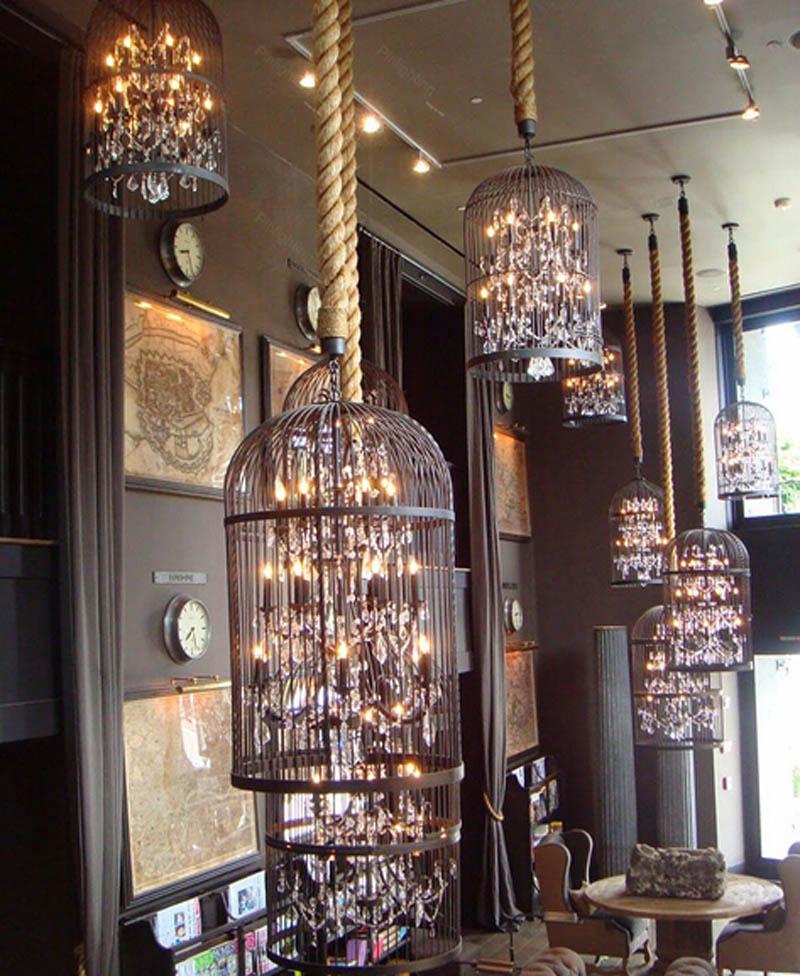Retro-Lamparas-Black-Decor-American-Vintage-Industrial-Bird-Cage-Pendant-Light-With-Crystal-Ornaments-Nordic-Birdcage12