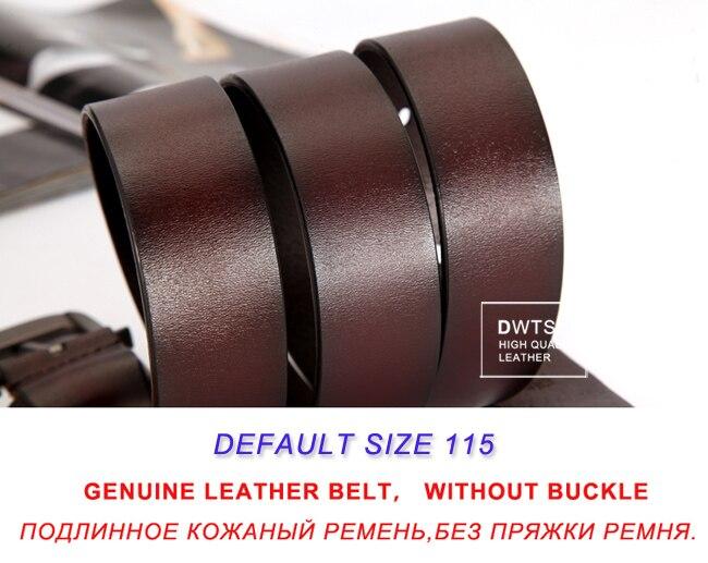 Brown belt no buckle