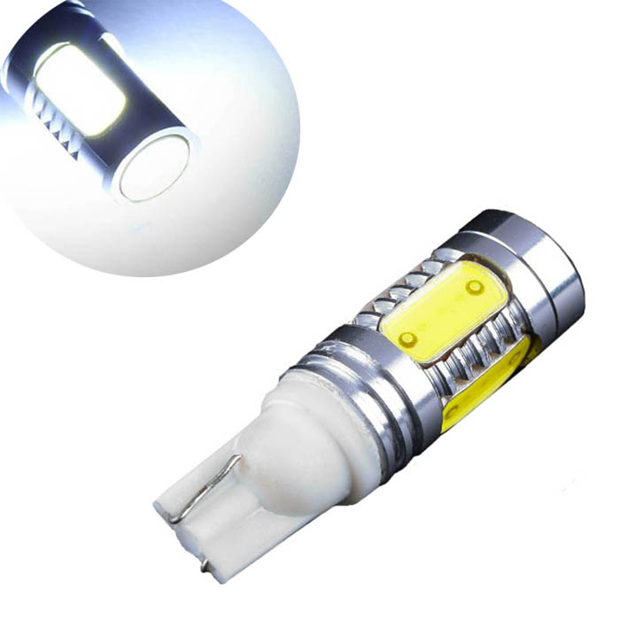 kongyide Healight Bulbs Bright T10 12V 7.5W Car LED SMD Back Up Rear Light White 6000K NOV10