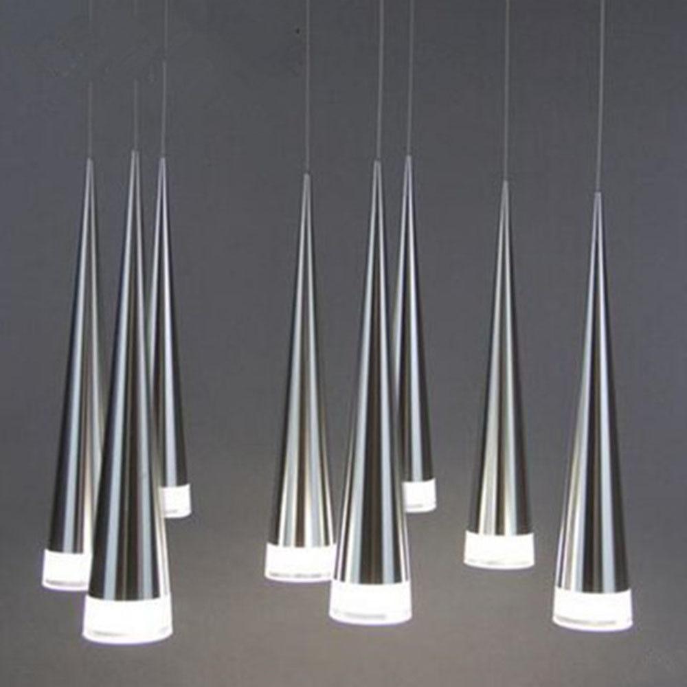 Fashion Pendant Lights LED Simple Metal 3 Heads Lamp Fixtures Home Living Restaurant Dining Kitchen Lighting Pendant Light