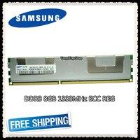 Samsung memoria de servidor DDR3 8GB 16GB PC3-10600R 1333MHz ECC REG registro RAMS RAM DIMM 240pin 10600 8G radiador