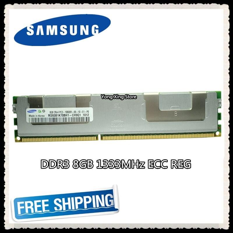 Samsung memoria de servidor DDR3 8GB 16GB PC3-10600R 1333MHz ECC REG registro RAMS RAM DIMM 240pin 10600 8G radiador Versión Global Xiaomi Mi 10 8GB Ram 128GB Rom teléfono móvil 5G Smartphone 108MP Snapdragon 865 Octa Core 6,67