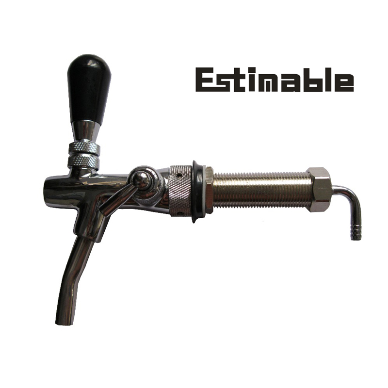 Homebrew Adjustable Chrome Plating Draft Beer tap Faucet with ...