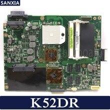 Kefu K52DR материнская плата для ноутбука ASUS K52DR A52DE K52DE A52DR K52D Тесты оригинальная материнская плата AMD 1G видеокарта