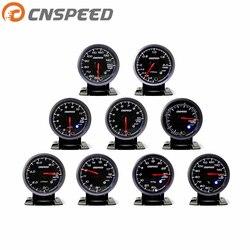 Darmowa wysyłka 2.5 cal 60MM wskaźnik samochodowy ciśnienie oleju termometr do wody temperatura oleju napięcie Turbo Boost spalin temp gauge miernik samochodowy|Manometry olejowe|   -