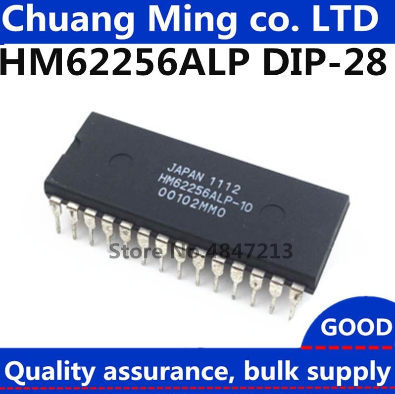 Hitachi NEW HM62256LP-10 CMOS Static RAM Free Shipping 28-pin DIP