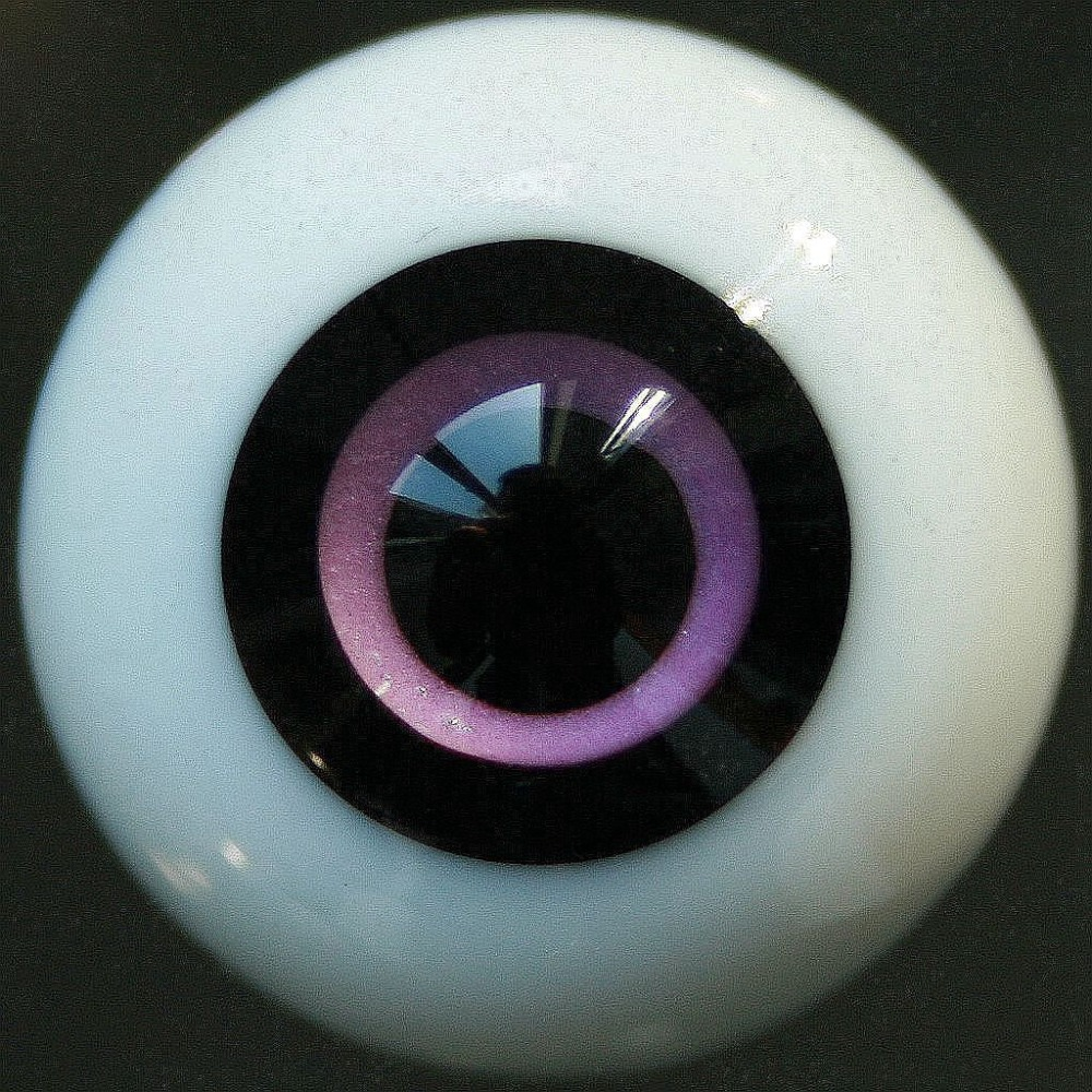 PF Et51#10mm Purple And Red Eyes Outfits For BJD Doll Dollfie Glass Eyes