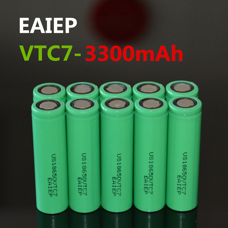 10PCS EAIEP US18650VTC7 18650 3300mah electronic products re