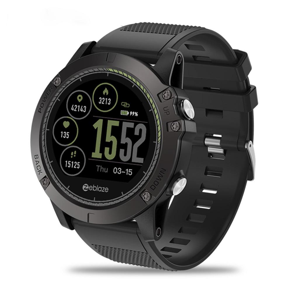 New Zeblaze VIBE 3 HR Smartwatch IP67 Waterproof Wearable Device Heart Rate Monitor IPS Color Display