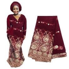 Последние фиолетовые африканские золотые блестки кружевной французский тюль кружевной ткани для свадебной вечеринки вышивка нигерийская кружевная ткань