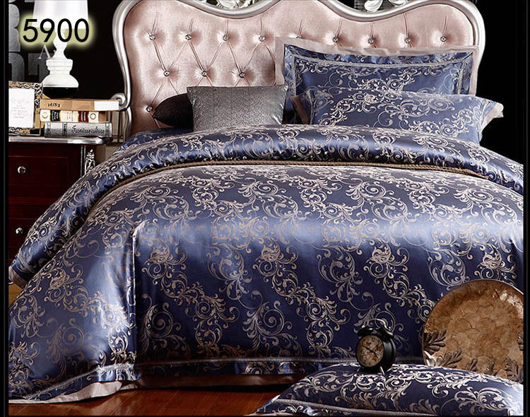 Golden camel color satin silk bedding sets lux tribute 4pcs 6pcs ... : jacquard quilt - Adamdwight.com