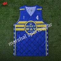 Miễn phí vận chuyển rẻ bóng rổ jersey OEM items 100% polyester chất lượng tốt mens đội bóng rổ jerseys