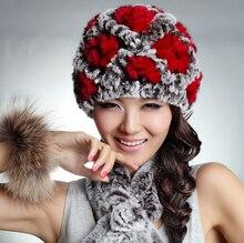 Марка женщины шапочки 2016 горячие продажа подлинная рекс кролика hat натуральный мех шляпы шапка для женщин Головные Уборы Различные Шляпа женщина зима