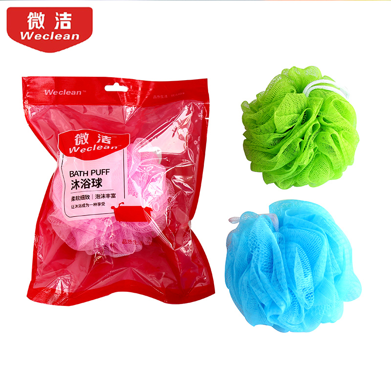 To bath towel soft sponge towel color large Korean back rubbing bath towel bath bath ball
